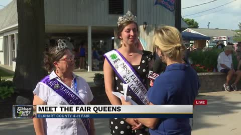 Live with the 2019 Elkhart County 4-H Fair Queen and Senior Queen